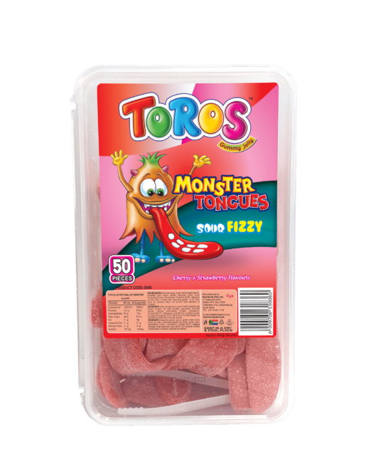 Monster Tongue_ SourFizzy_ Cherry & Starwberry_Frontview-min