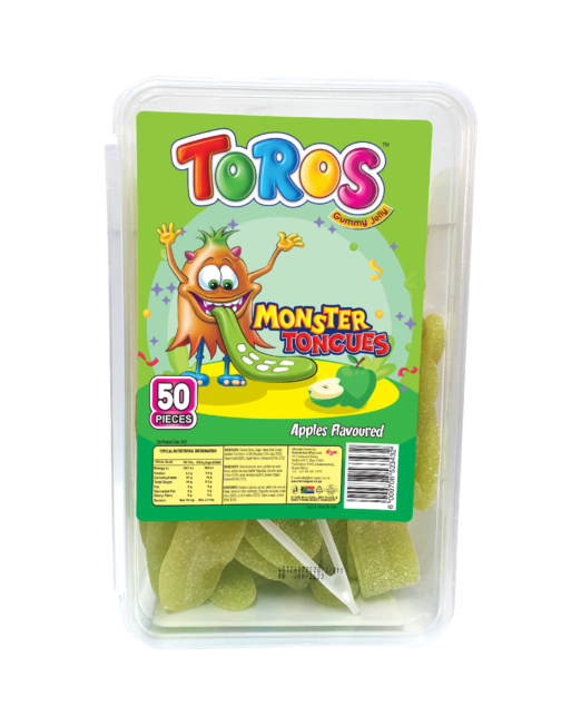 Toros Monster Tongue_ Tub 50s_ Apples Front